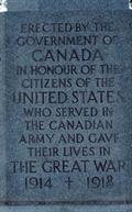 Image for Canadian Cross of Sacrifice - Arlington National Cemetery - Arlington, VA