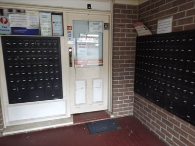 Showing some of the Mail Boxes.