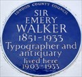 Image for Sir Emery Walker - Hammersmith Terrace, London, UK