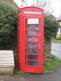Image for Staverton Village Red Telephone box - Northant's