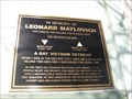 Image for Leonard Matlovich Memorial Plaque - San Francisco, CA