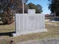 Image for War Memorial - Hewitt Cemetery - Wilson, OK