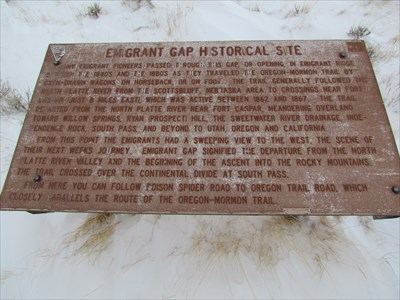 "emigrant gap dating site The california historical marker is located at the emigrant gap vista point off of interstate highway 80 emigrant gap turnoff (pm 555) placer county placer is a spanish word describing surface mining gold that had been ""placed"" in streams or on the ground through natural erosion was processed by planning, rocking, and similar."