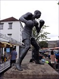 Image for Randolph Turpin Statue - Market Square, Warwick, UK
