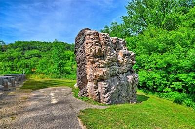Rock Springs Wi >> Van Hise Rock Rock Springs Wi U S National Register Of Historic