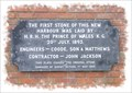 Image for Prince of Wales Pier Commemoration Plaque - Dover, Kent.