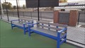 Image for Henley Tennis Court Benches - Klamath Falls, OR