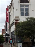 Image for Mural going up on site of old Lyric Theatre - Terrell, TX