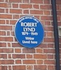 Image for Robert Lynd - Windsor Avenue - Belfast