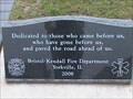Image for Riemenschneider Park, Fireman's Prayer Monement, Yorkville, IL