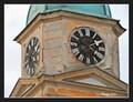 Image for Clock of Evangelical Church / Hodiny evangelického kostela - Libice nad Cidlinou, Czech Republic