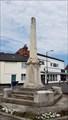 Image for Combined WWI / WWII memorial obelisk - Vicar Street - Wymondham, Norfolk