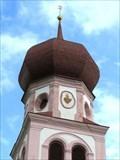 Image for Pfarrkirche St. Maria Magdalena Steeple - Oberleutasch, Austria