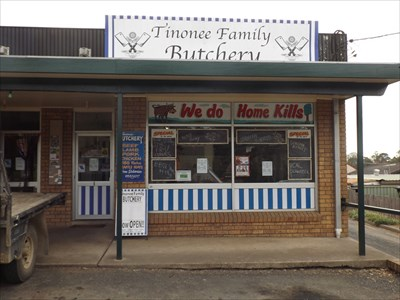 Tinonee Family Butchery: offers Home Kills, you had better a good boy Johnny! ;-)
