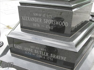 Son of Alexander Spotswood