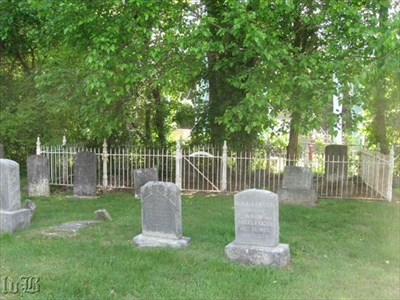 The old cemetery remains behind the old Berea Church although the congregation is long gone and the church is now a museum.
