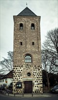 Image for Alter Glockenturm der Kirche St. Jakobus, Niederkassel-Lülsdorf, NRW, Germany