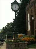 Image for The Village Clock of Orangeville, Illinois