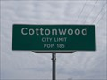 Image for Cottonwood, TX - Population 185