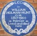 Image for William Holman-Hunt - Melbury Road, London, UK