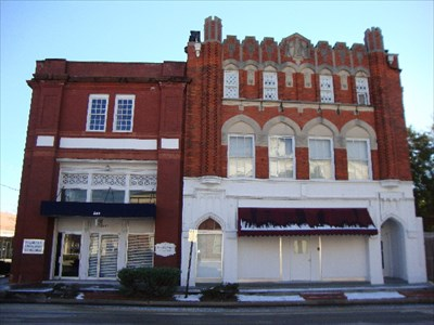 Bank of onslow and jacksonville masonic temple for Historical buildings in north carolina