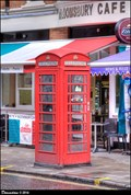 Image for Red Telephone Boxes - Bloomsbury Street, London, UK