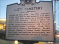 Image for City Cemetery/Mexican War Monument - 3B 80 - Gallatin, TN