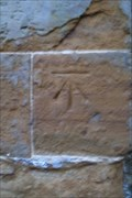 Image for Cut-mark on All Saints' Church, Harpole, Northants.