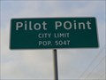Image for Pilot Point, TX - Population 5407