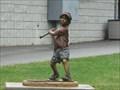 Image for Boy at Bat - Hunter Wright Stadium - Kingsport, TN