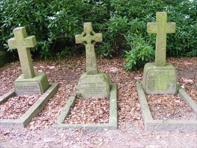 Talbot family graves.