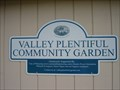 Image for Valley Plentiful Community Garden