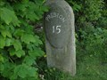 Image for Lancaster Canal 15 Mile Milestone - Claughton-on-Brock, UK