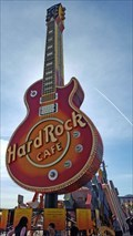 Image for Very First Hard Rock Café Guitar Sign - Las Vegas, NV