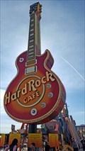 Image for Very First Hard Rock Café Guitar Sign - Las Vegas, NV