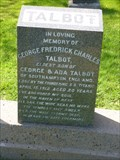 Image for George Frederick Charles Talbot - Halifax, NS, Canada
