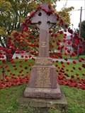 Image for Memorial Cross - The Green - Colne, Cambridgeshire