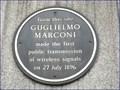 Image for Guglielmo Marconi - Newgate Street, London, UK