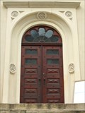 Image for Door at the Neupfarrkirche, Regensburg - Bavaria / Germany