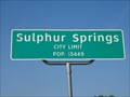Image for Sulphur Springs, TX - Population 15449