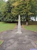 Image for Castle Park Obelisk - Colchester, UK