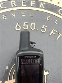 pearsall park trailhead marker 650 5 feet san antonio tx elevation signs on waymarking com waymarking