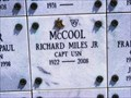 Image for Richard Miles McCool, Jr.-Annapolis, MD