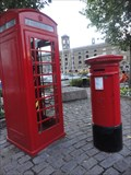 Image for St Katherine's Wharf Red Telephone Box  -  London, England, UK