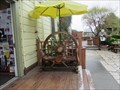 Image for Wagon Wheel Seat - Half Moon Bay, CA