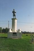 Image for Zinc Civil War Soldier - Iola, Kansas