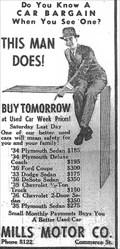 Image for Mills Motors - Kingsport, TN - 1939