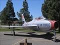 Image for Republic F-84F Thunderstreak - TAM, Travis AFB, Fairfield, CA