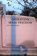 Image for Afghanistan-Iraq War Memorial - Polk County Veteran's Memorial, Mena AR