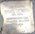 Image for Stolpersteine Israël de Beer - Musselkanaal NL